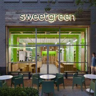 sweetgreen- salads and yogurt restaurant- organic, local, environmentally conscious.