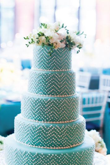 Preppy Wedding Cake...nico and lala