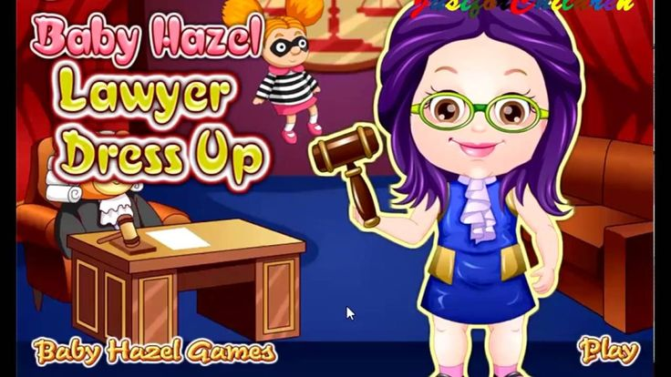 Baby Hazel Games | Dress up Games - LAWYER | Baby Games | Free Games | G...