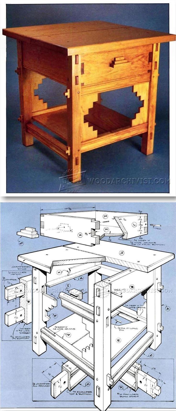 Santa Fe Table Plans - Furniture Plans and Projects   WoodArchivist.com