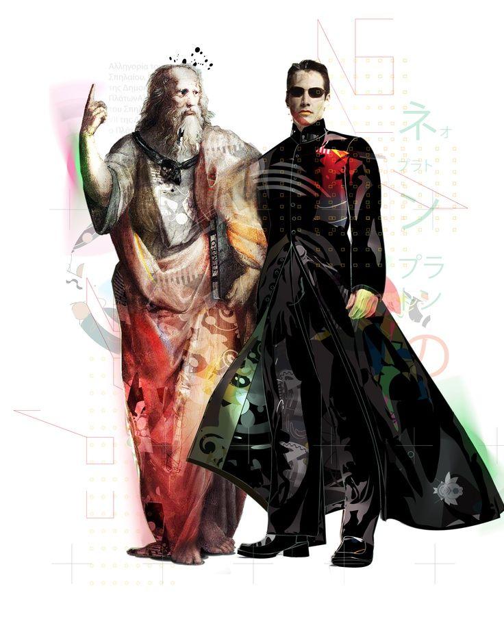 Platón y Neo
