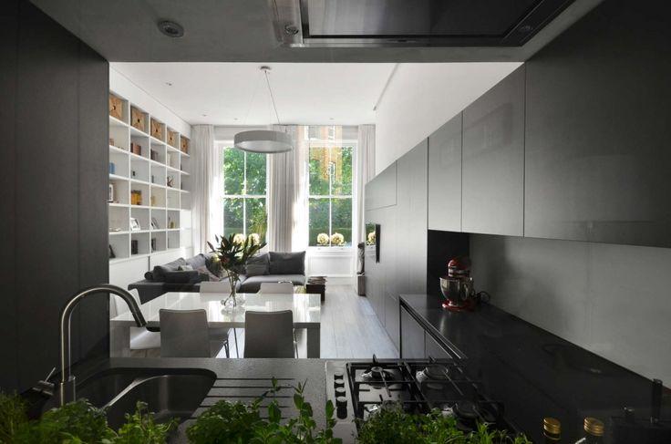 Met één ingreep meer licht en ruimte in dit appartement in Londen