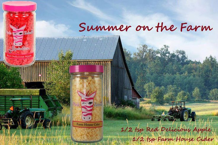 Pink zebra recipe...summer on the farm shop online add me to Facebook for a chance at free give aways as well www.pinkzebrahome.com/ashoaf https://www.facebook.com/pinkzebrawoman/
