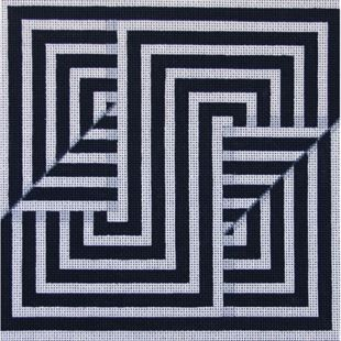 needlepoint abstract - Google Search