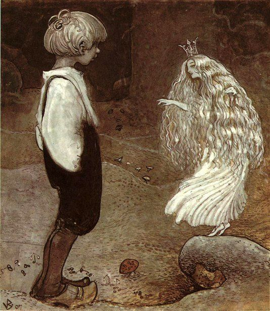The Seven Wishes-John Bauer (1882 – 1918, Swedish)