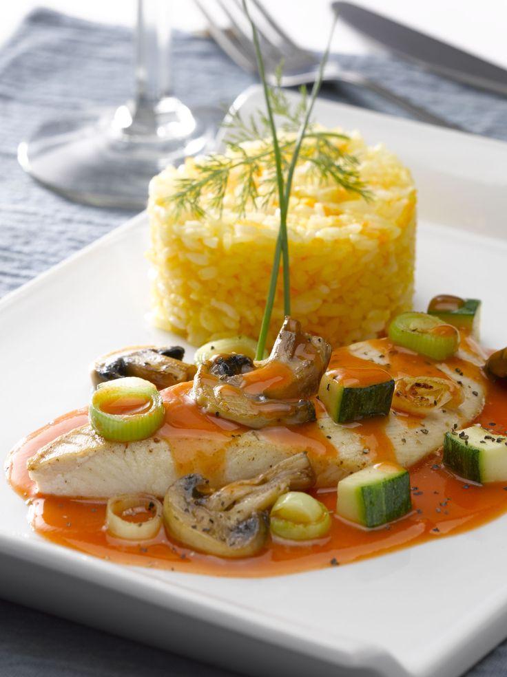 Aprende a preparar una Reineta con crema de Tomates y Verduras, ideal para un almuerzo delicioso con buena compañía.