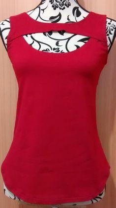 Cómo trazar el molde o patró de costura para blusas modernas de verano sin mangas y escotes bonitos. Top BC139 con escote ojo.