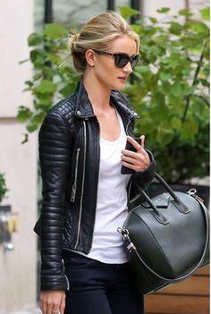 Resultado de imagen para chaquetas negras para mujer
