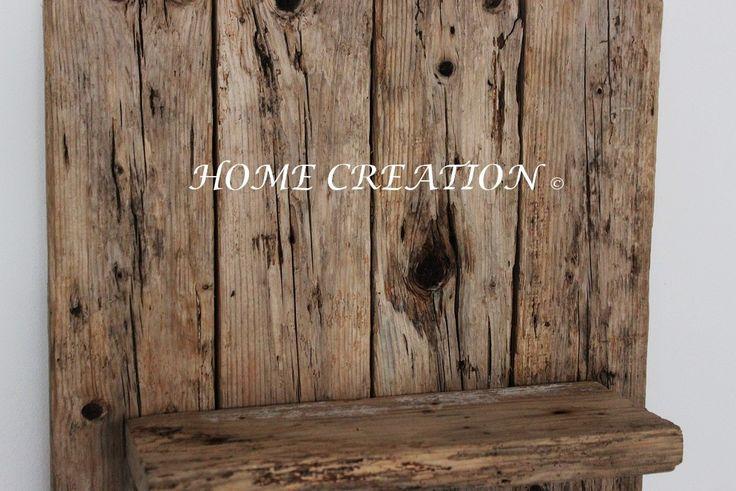 etag re murale en bois flott 100 stella petit. Black Bedroom Furniture Sets. Home Design Ideas