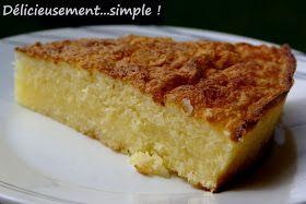 Ce gâteau est à fondre de plaisir!! Des mots et une recette du blog plein d'humour de Sab: Le plai sir de gourmandise .     Ingrédien...
