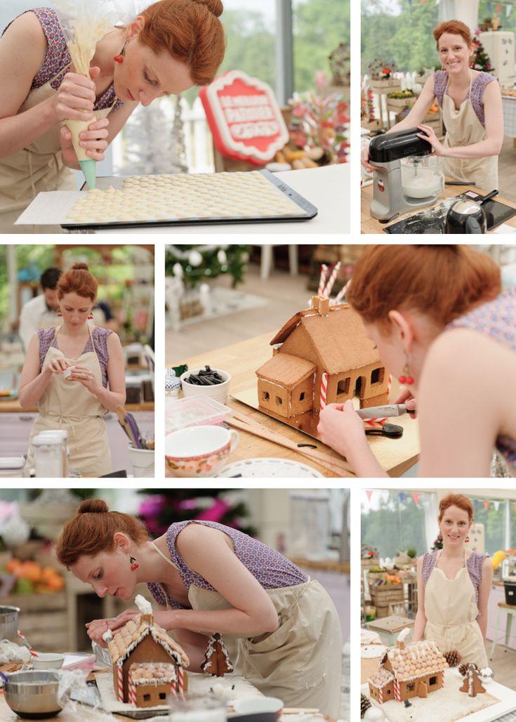 Découvrez ma recette de maison en pain d'épices et boutons de culotte réalisés pour l'épreuve créative du Meilleur Pâtissier de Noël