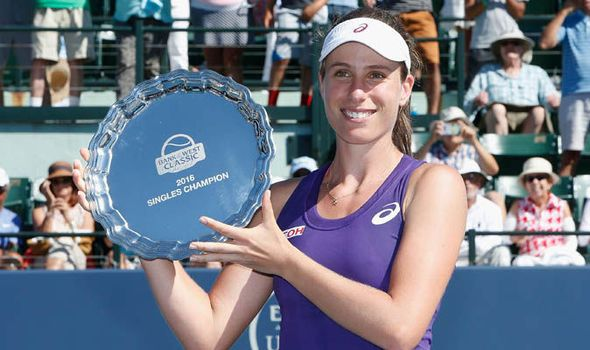 Johanna Konta beats Venus Williams to land first WTA Tour title: Brit 'humbled' by win