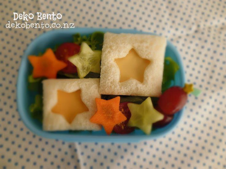 Star small sandwich - dekbento.co.nz