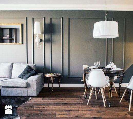 Salon styl Eklektyczny - zdjęcie od Raca Architekci