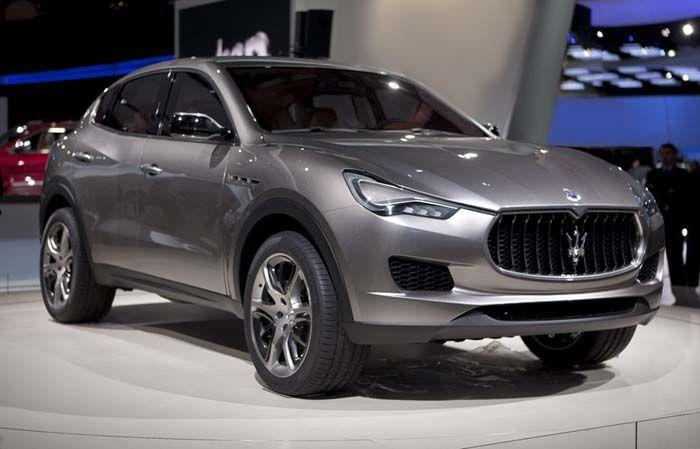 2018 Maserati Kubang overview