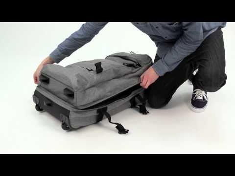 Eastpak Medium Transfer Luggage Bag - YouTube