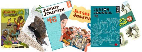 Junior Journal Online + Audio Files