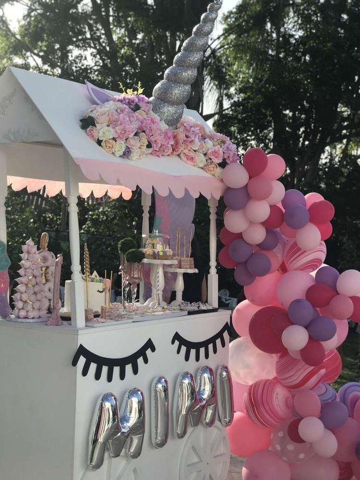 Best 25 Rainbow Unicorn Party Ideas On Pinterest 7th