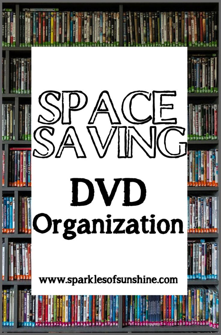 Looking for a simple way for DVD organization in your home? At Sparkles of Sunshine you'll find an easy way to organize your DVD collection at a low cost.
