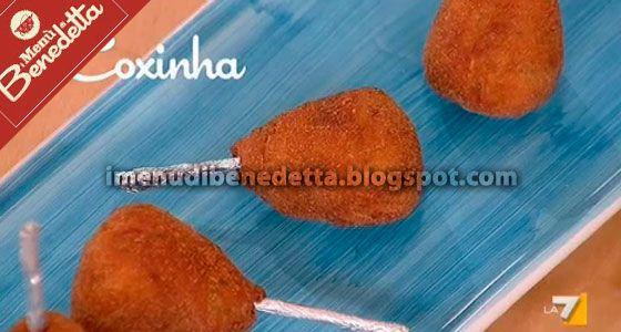 Coxinha | la ricetta di Benedetta Parodi
