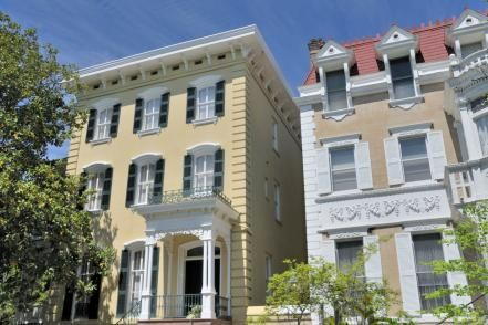 Historic Savannah is known for its residential brownstones, mansions and 19th-century commercial districts.