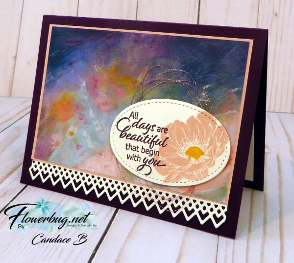 Floral Essence With The Perennial Essence Handmade Cards Stampin Up Inspirational Cards Stamp Projects