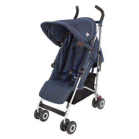 La nueva silla de paseo Quest de Maclaren, es una sillita de segunda edad muy fácil de conducir, ligera, compacta... y podrás usarla desde el nacimiento! La silla de paseo de paraguas ideal muy ligera con todas las funcionalidades!