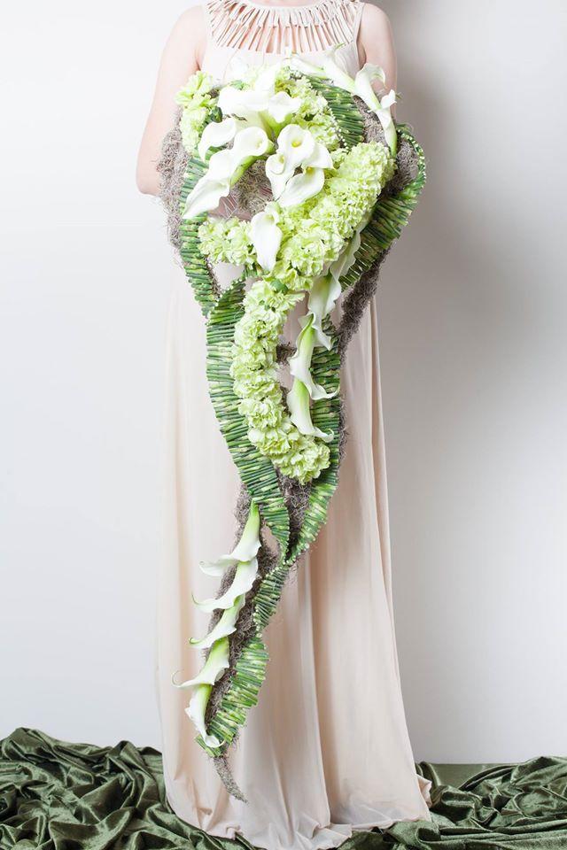 Bouquet by designer Elena Butko