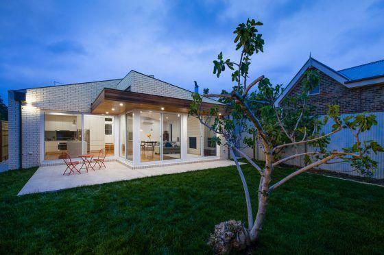 Fachadas casas modernas un piso