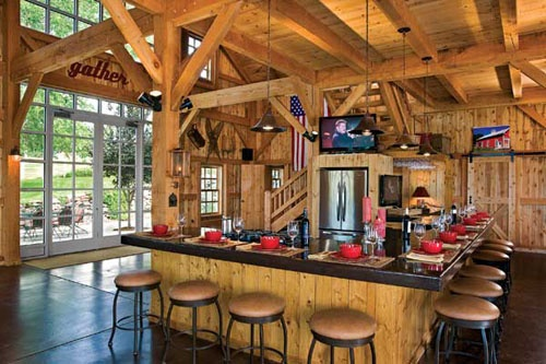 25 best ideas about converted barn homes on pinterest for Usa pole barns