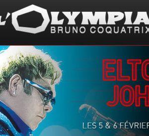 Elton John sera en concert à l'Olympia en 2016