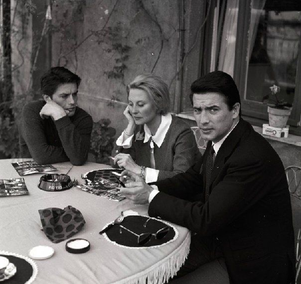 Alain Delon michele morgan Pierre Brice