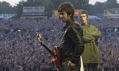 Noel & Liam - the battling Gallagher brothers of Oasis