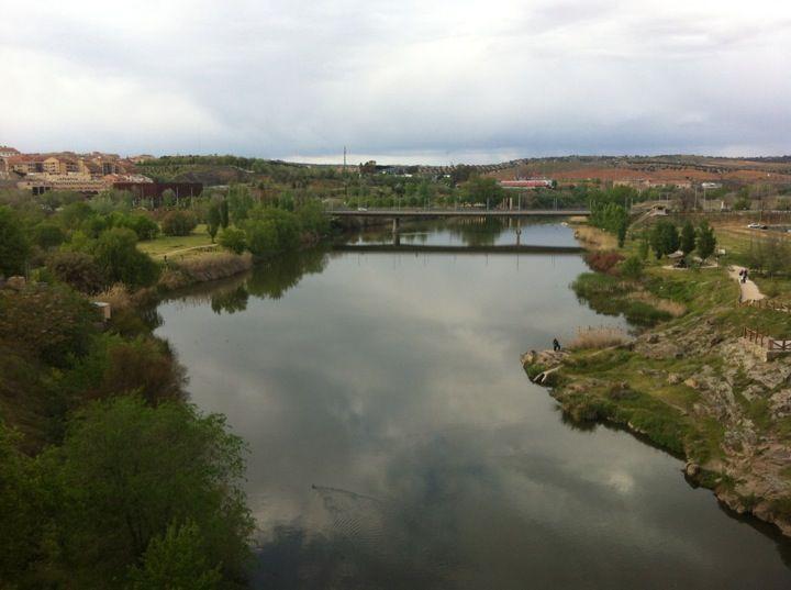 Rio Tajo en Toledo, Castilla-La Mancha