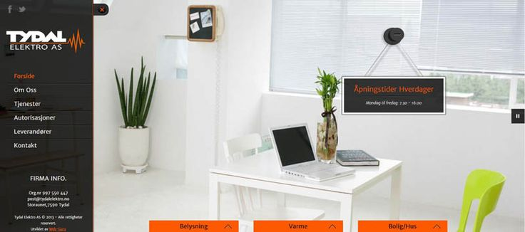 Frontpage, Desktop layout
