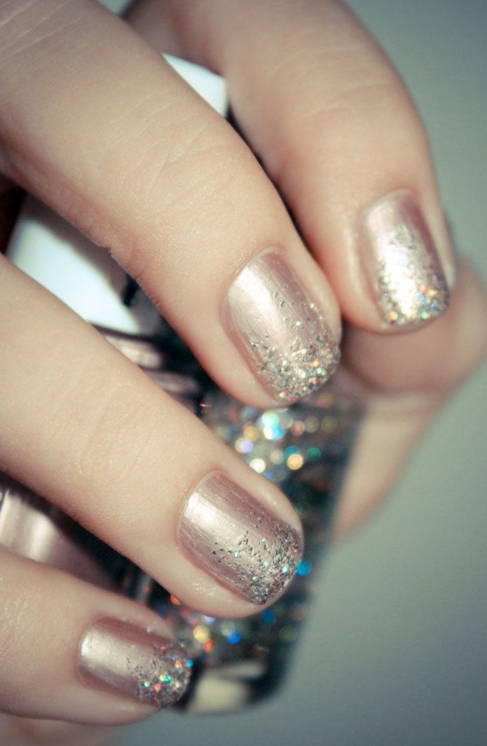 24 Holiday Nail Art Designs to Try This Week via Brit + Co.