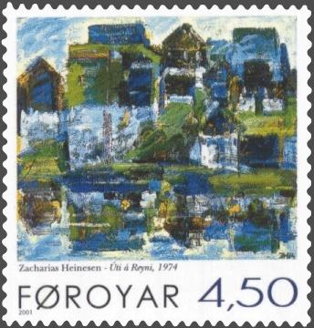 stamp 397 zacharias heinesen -