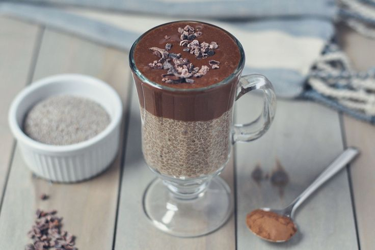 Coco Chia pudding // 17 Emulsified MCT Oil Recipes                                                                                                                                                                                 More