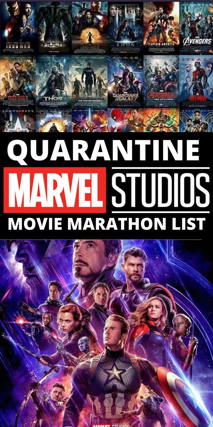 Complete List of Marvel Movies and TV Shows In Order to