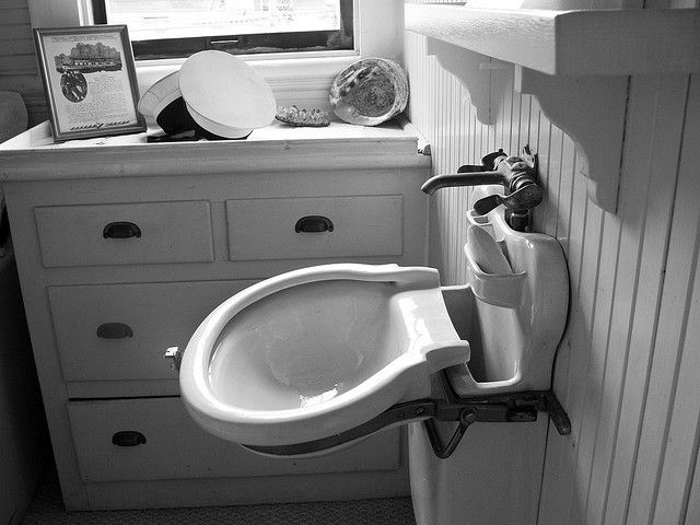 Folding sink by treedork via flickr cozy home pinterest tyxgb76aj this dads and boats for Folding shower for small bathrooms