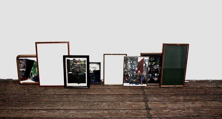 Gioacchino Pontrelli Frames installation Courtesy Canal 05 #gioacchinopontrelli #contemporaryart #italianartist #canal05 #artgallery #brussels
