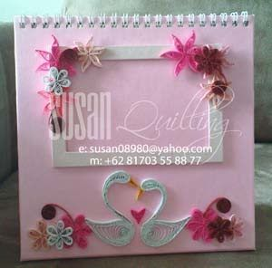 39 best quilling photo frames images on Pinterest  Papercraft