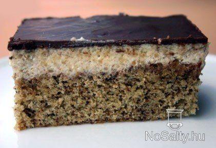 Diós krémes sütemény Kikitől: http://www.nosalty.hu/recept/dios-kremes-sutemeny#