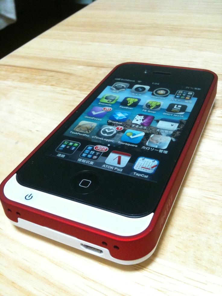 iPhoneカバー。ibattz