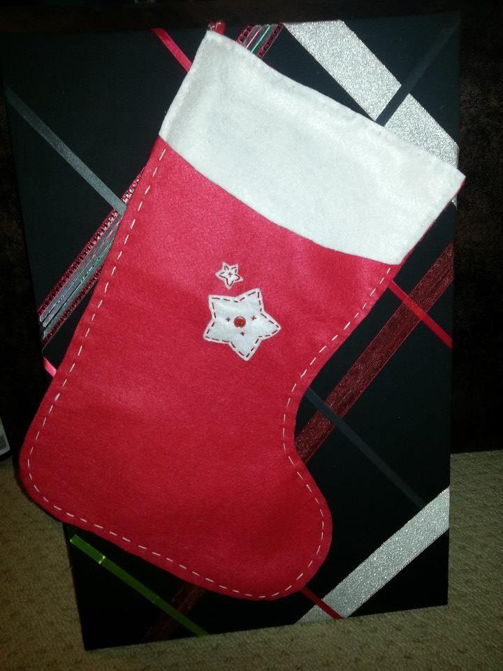 Large Xmas stocking.
