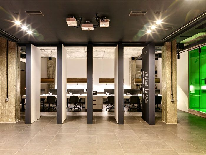 office design company. ZOOI Studio Create Office Interior For The LETLED Company In Kiev Design