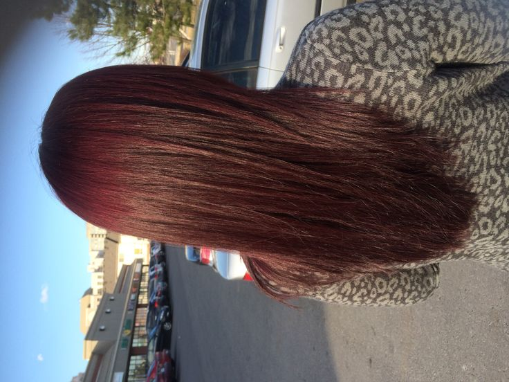 Red mahogany hair color  Www.nataliethehairstylist.com