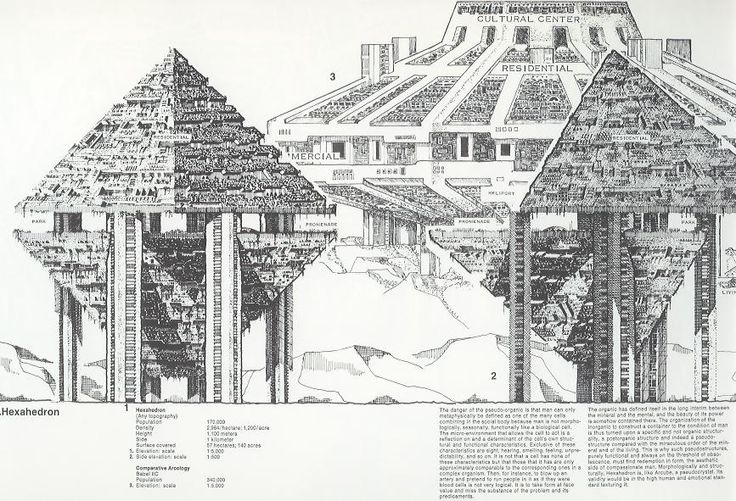 paolo soleri - arcology concept