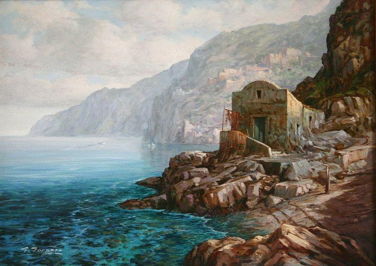 Trasparenza by giuseppe gorgero  Dipinto ad olio c.50 x 70