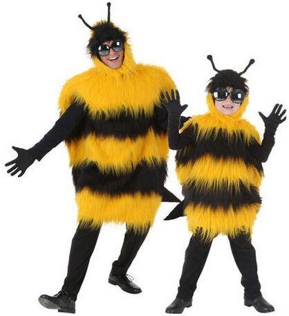 Pas cher Jaune abeille costume pour adultes killer bee cosplay hornet costume drôle costumes d'animaux halloween habits de fête carnaval costume, Acheter  Habits de qualité directement des fournisseurs de Chine:  si vous choisissez EXPRESS (DHL, FEDEX, UPS, TNT...)! s'il vous plaît note ce qui suit:1) Notre plate-forme fret E